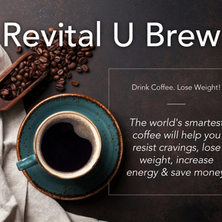 New Sponsor Revital U Smart Coffee.<