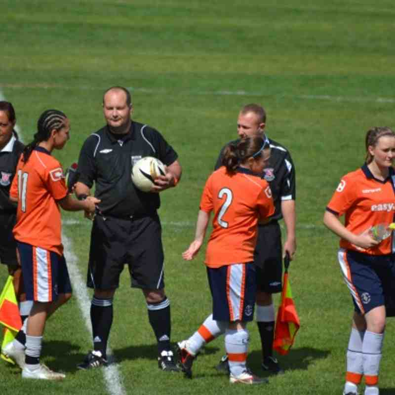 Enfield Town Ladies 4-1 Luton Town Ladies (26-8-12)
