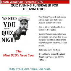 U10's Evening Fundraiser