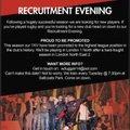 Recruitment Evening