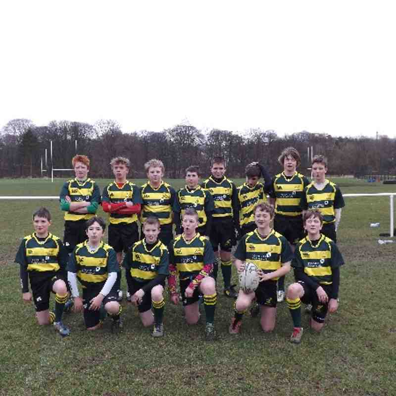 S1/2 MATCH AGAINST WANDERERS 2014