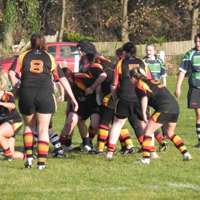 Southport Ladies V Preston Grasshoppers 21-10-12 (by Sue Astwood)