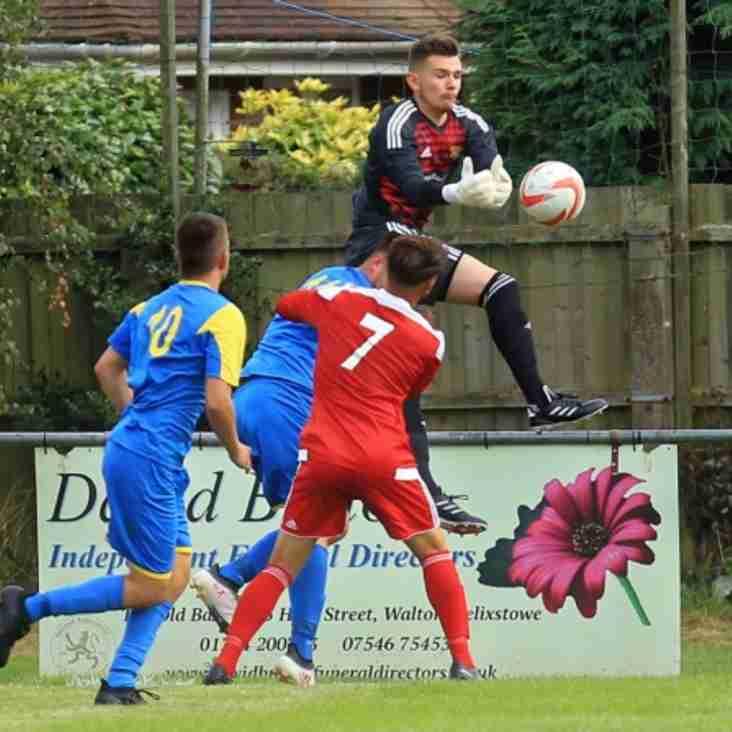 Leiston sign Felixstowe & Walton United Keeper Joe Potter