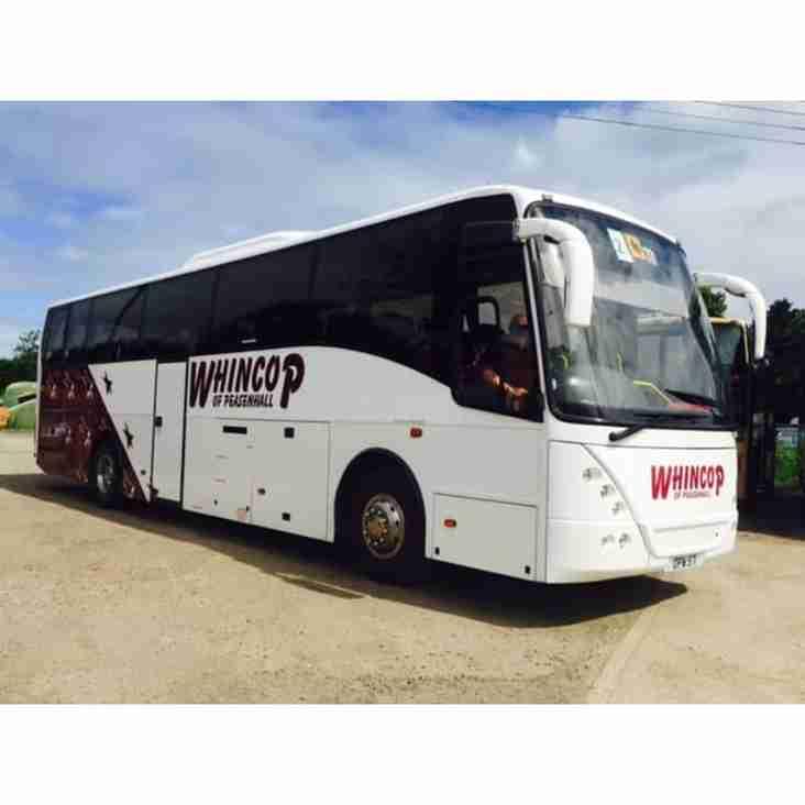 Away day coach travel arrangements