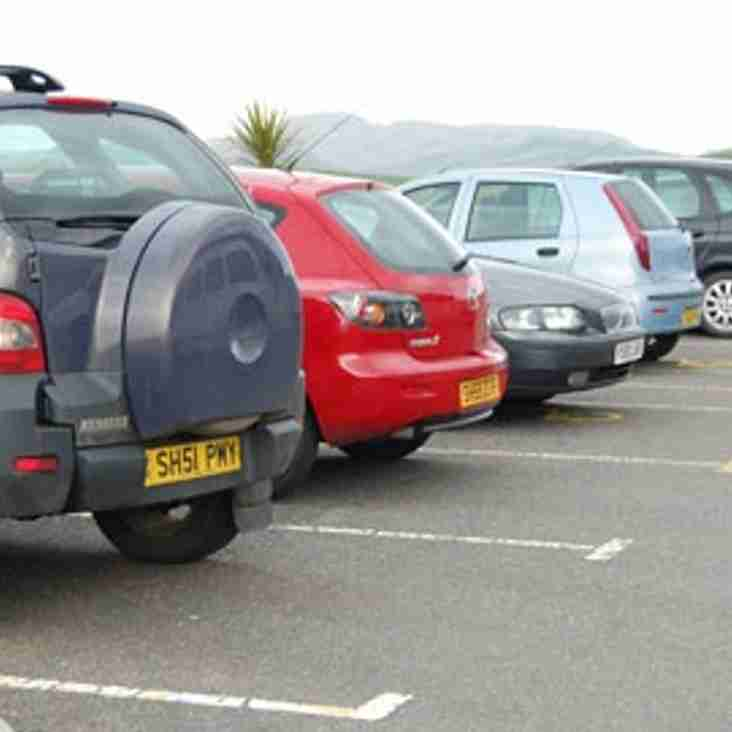 Additional Parking for Easter Bank Holiday Monday's match with Lowestoft Town