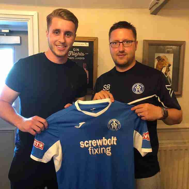 Striker Ryan Sharman signs from Cambridge City