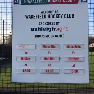 Men's 2s suffer narrow 0-1 loss to Wakefield 3s