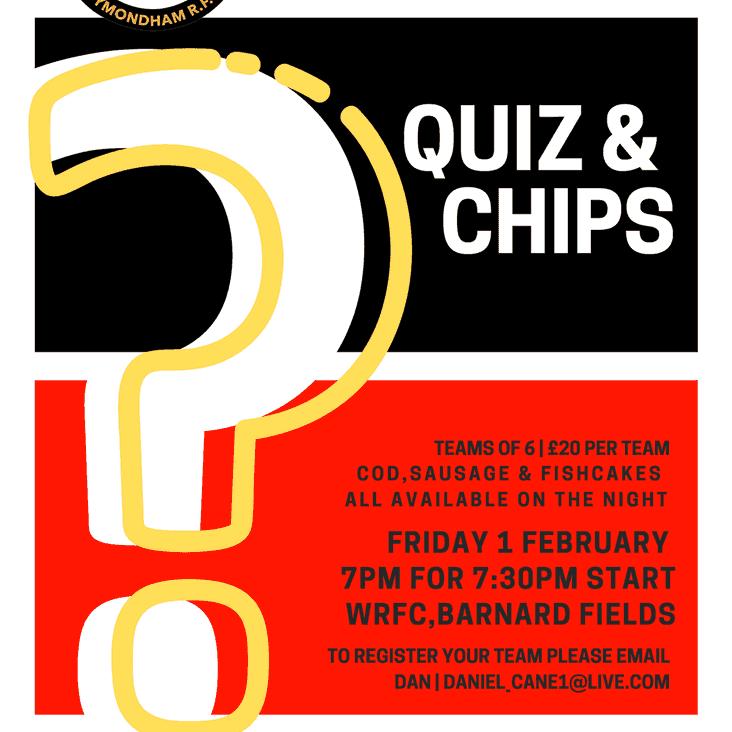 Quiz & Chips at Barnard Fields