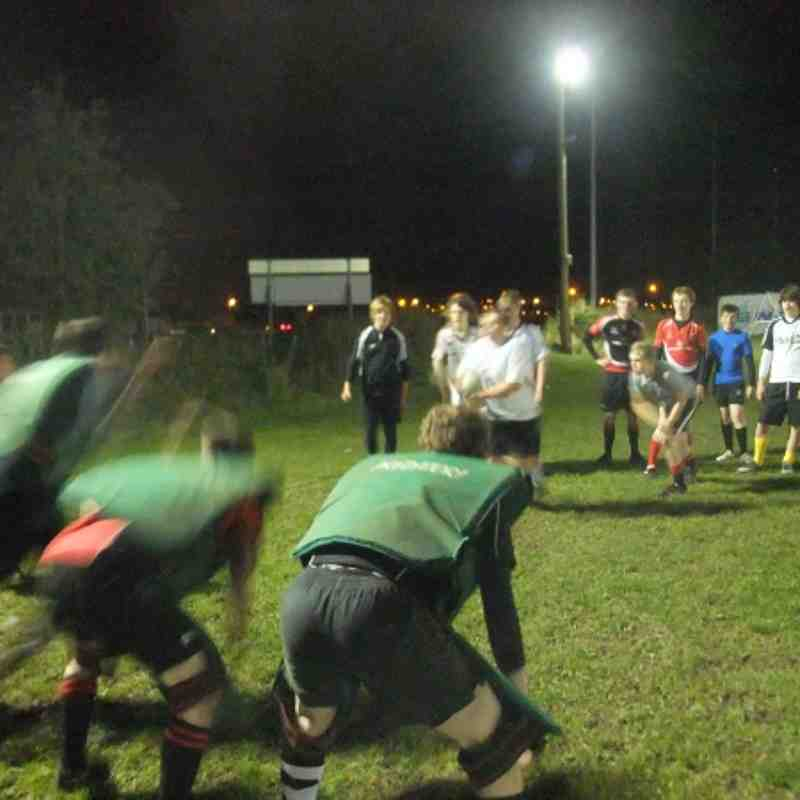 U15 Squad Training 22-9-2011