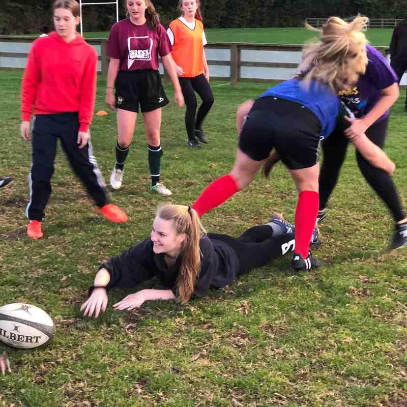 Girls Rugby U18 U15 U13