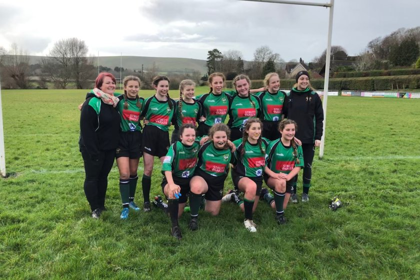 Heathfield Warriors V Lewes U13s Girls Rugby