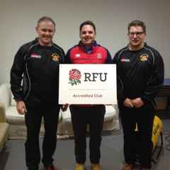 RFU CLub Accreditation Recieved.