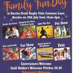 Charity Fun Day at Hub this Saturday