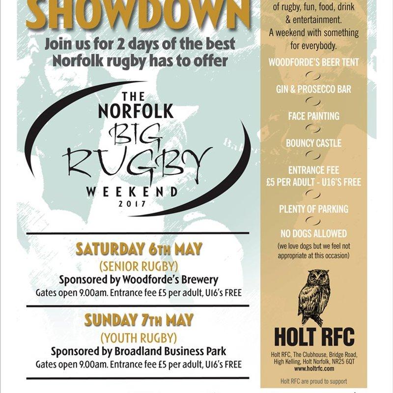 Norfolk Big Rugby Weekend