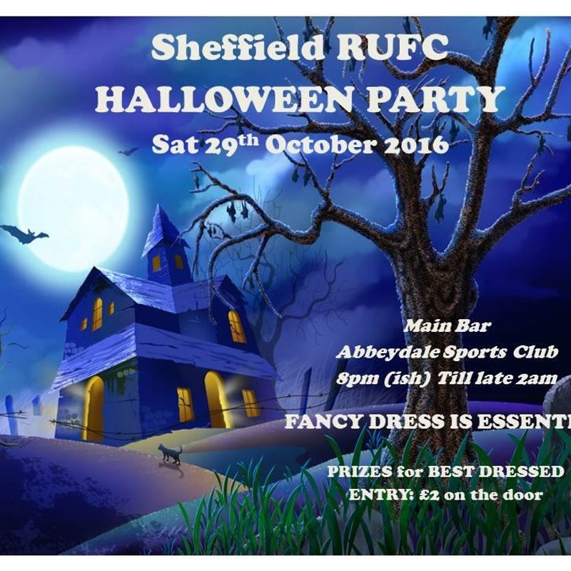 Date for your Diary - SHEFFIELD RUFC HALLOWEEN PARTY -