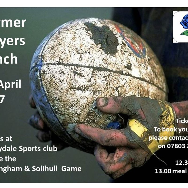 Former Players lunch ++ 8th April 2017 ++