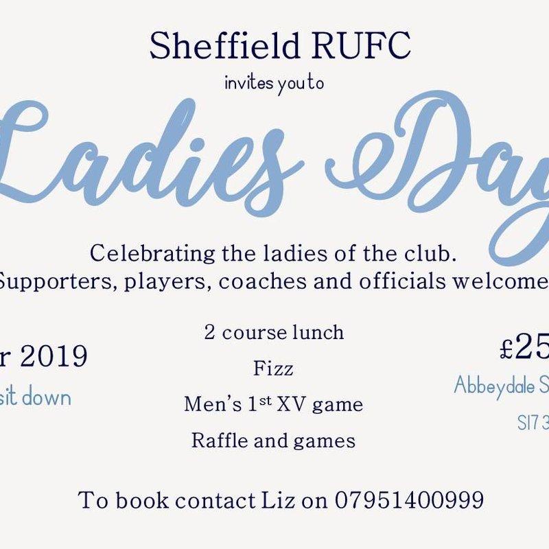 Sheffield RUFC - Ladies Day - 2019
