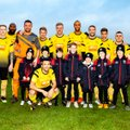 Two Clubs - One Purpose - Hucknall Town V Blidworth and Warriors U9's