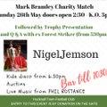 Tomorrow at Watnall Road - Bank Holiday Sunday Charity Match - All Welcome