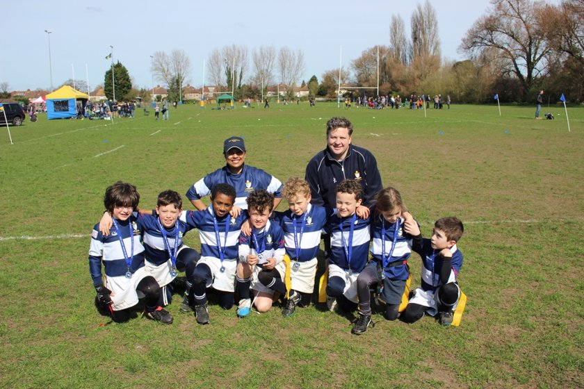 U9s Enjoy First Experience of Contact Rugby
