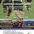Summer Rugby Camp @ ODRFC