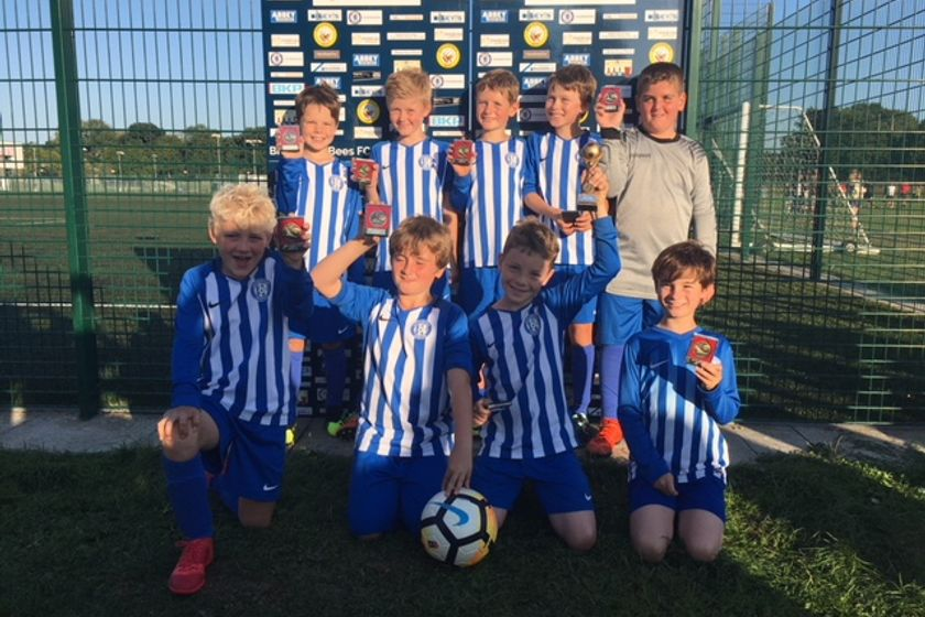 Littleton U10 Rangers Win the Braishfield Tournament Plate Competition