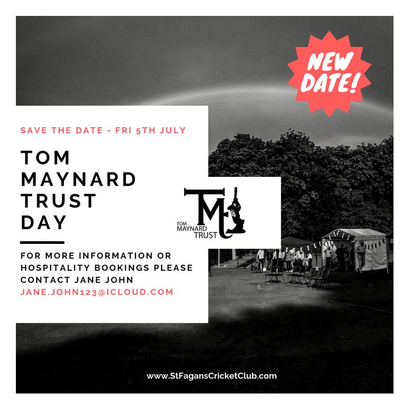 New date for Tom Maynard Trust Day confirmed