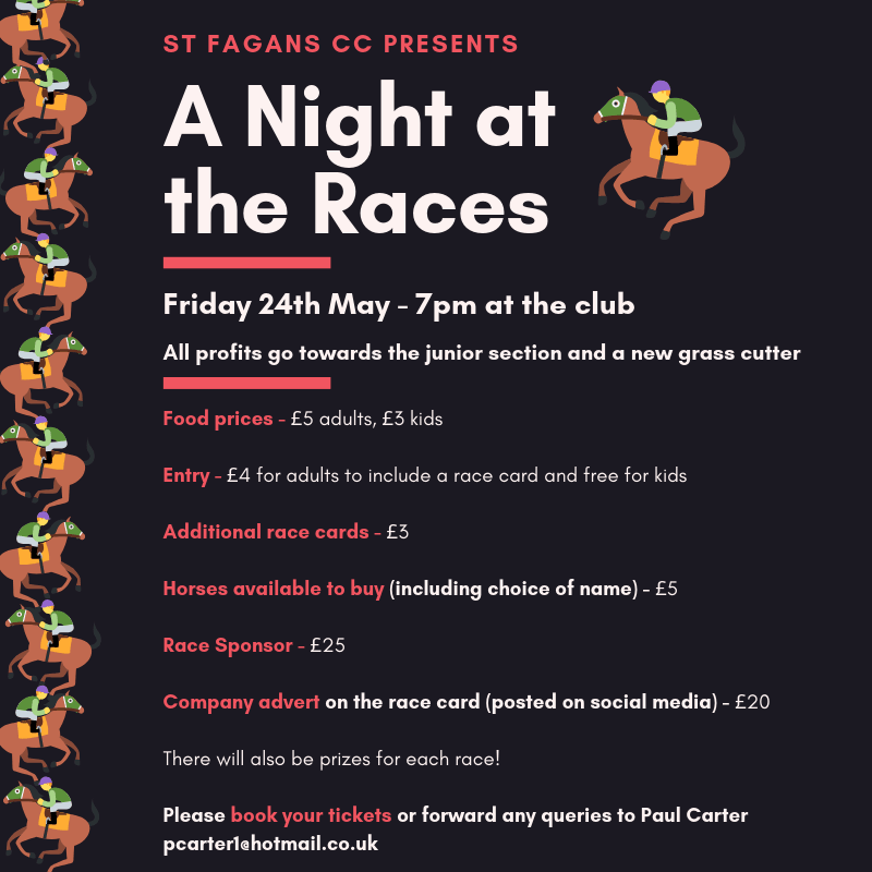 St Fagans presents A Night at the Races