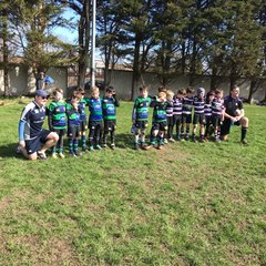 U8s at St Mary's March 2019