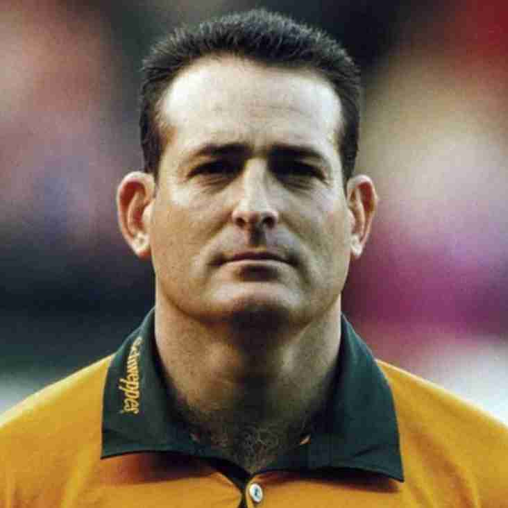 DAVID CAMPESE COMES TO LUNCH AT GOSPORT PARK
