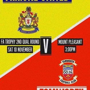 Marske United 2-0 Tamworth - Match Report