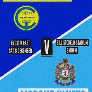 Carlton Town 2-2 Marske United - Match Report