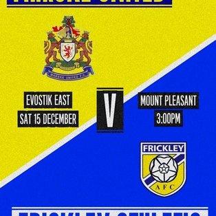 Marske United 0-1 Frickley Athletic