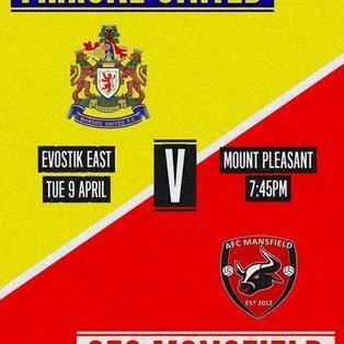 Marske United 3-1 AFC Mansfield