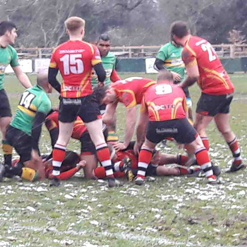 1XV v Lydney (Home) 17th March 2018