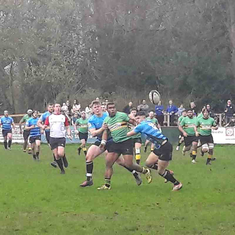 1XV v Brixham (home) 14th April 2018