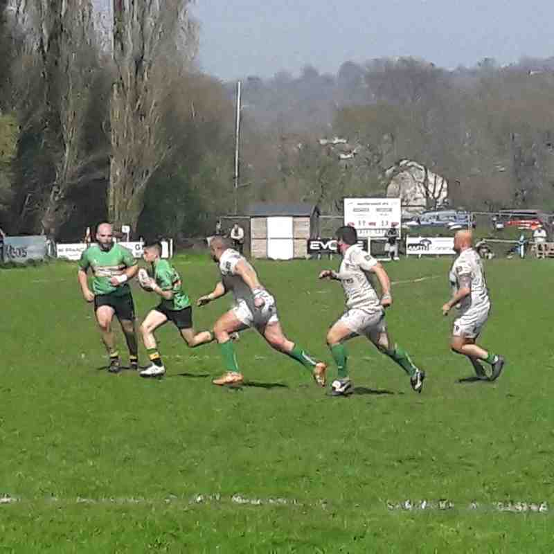 1XV v Newton Abbot Away (21 April 2018)