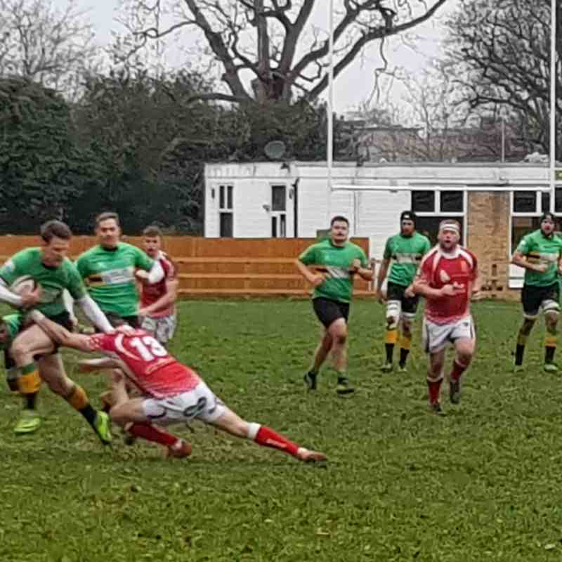 1XV vs Barnstaple  (H) 05.01.2019