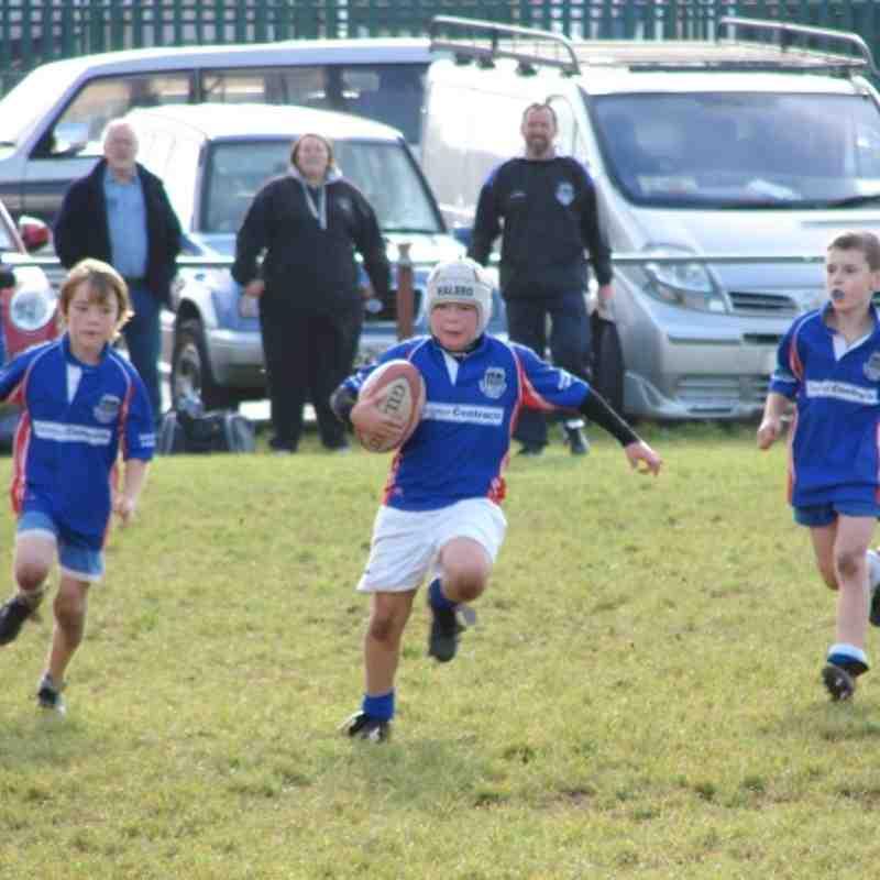 U10 vs Teignmouth and Ivybridge 30.10.11