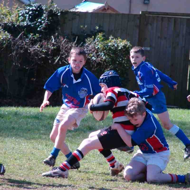U10 vs Teignmouth home 1.4.12