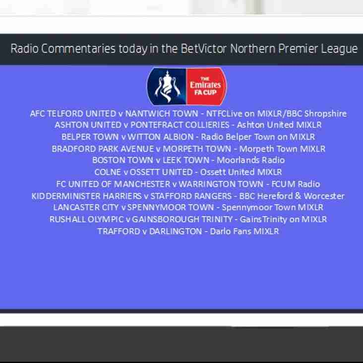 FA Cup Commentaries