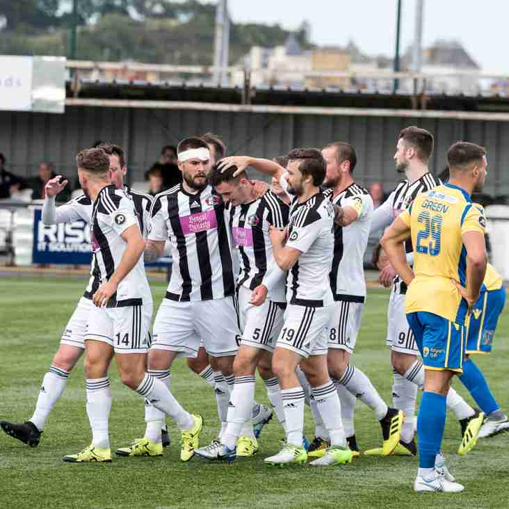 Llandudno earn first win of the season against Barry Town