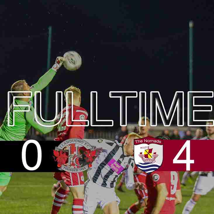 CONNAH'S QUAY TAKE ALL THREE POINTS AWAY FROM LLANDUDNO.
