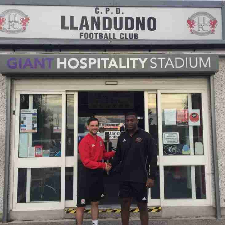Llandudno Call Back Cai Owen and Alfons Fosu-Mensah