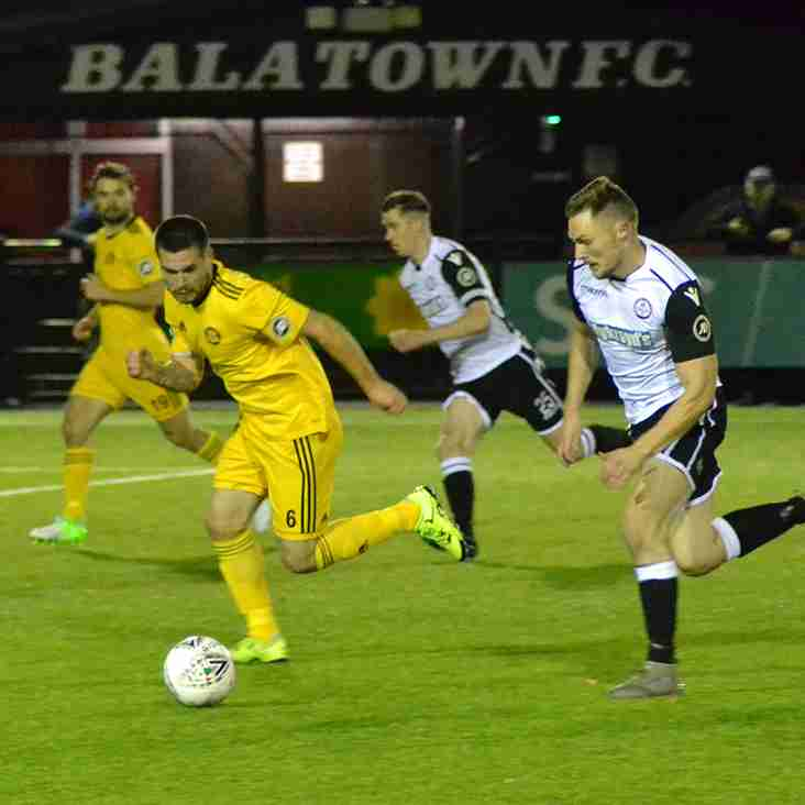 LLANDUDNO FALL TO DEFEAT AGAINST BALA TOWN