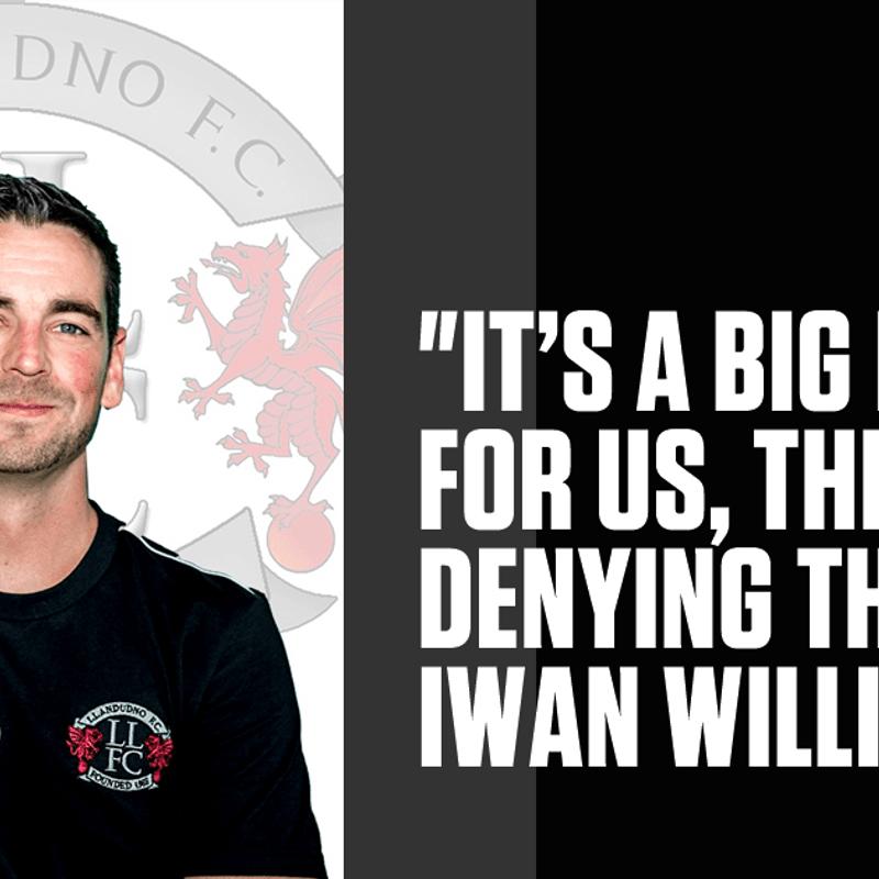 Llandudno face Llanelli next in the Welsh Premier League