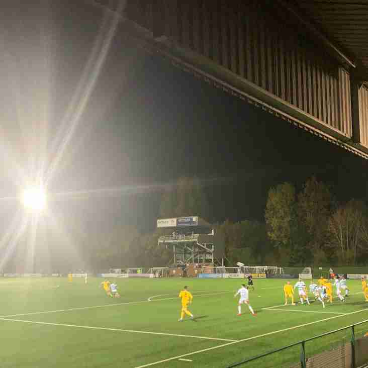 Disappointing night for Llandudno at Welsh Premier League holders TNS