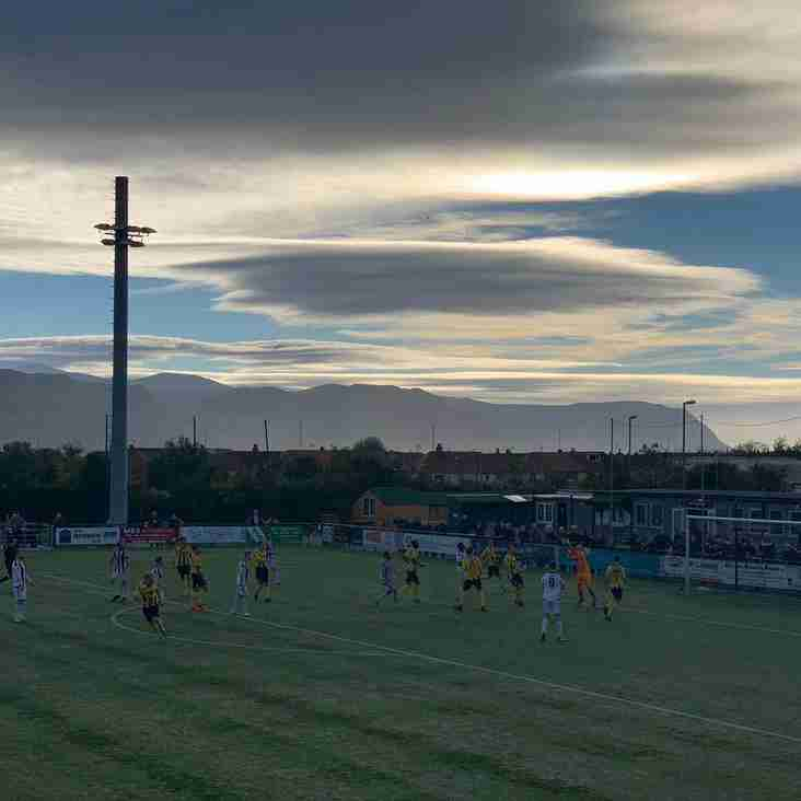 Llandudno fall to defeat after conceding late penalty.
