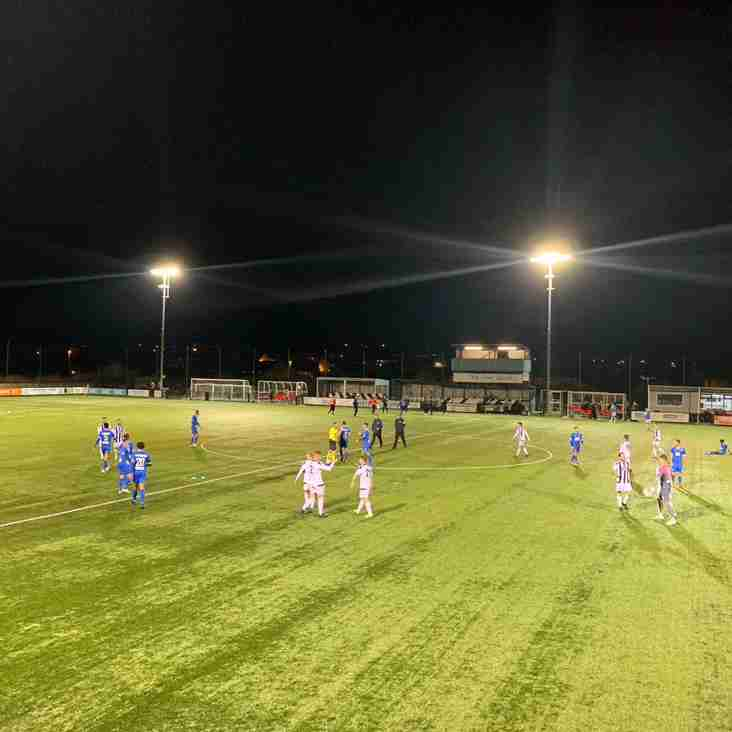 Llandudno crash out of the Nathaniel MG Cup after TNS defeat