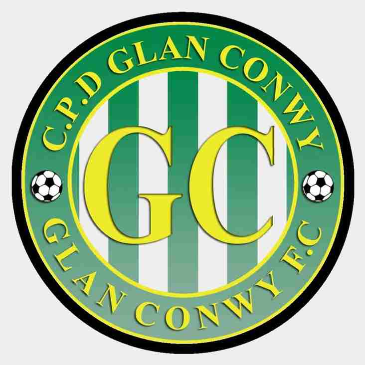 Friendly announced against Glan Conwy for Thursday night